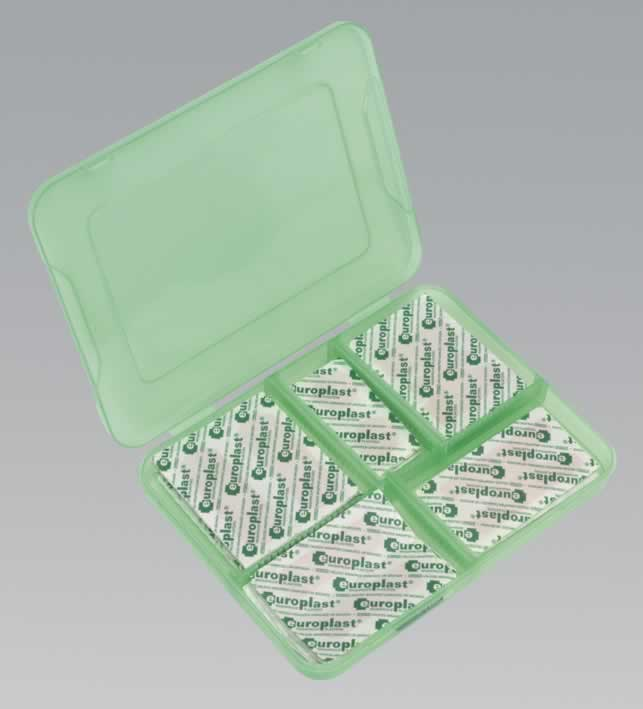 Assorted Washproof Plasters with Storage Case 100pc