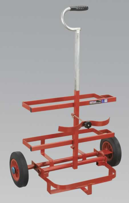 Welding Bottle Trolley Portable