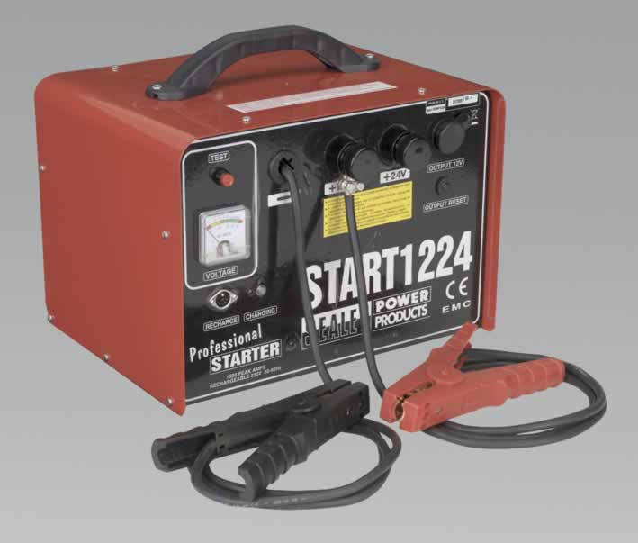 Emergency Power Pack 12/24V 1500 Peak Amps