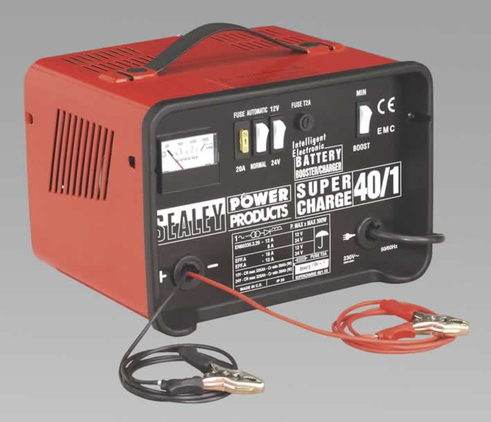 Battery Charger Low Maintenance 18Amp 12/24V 230V