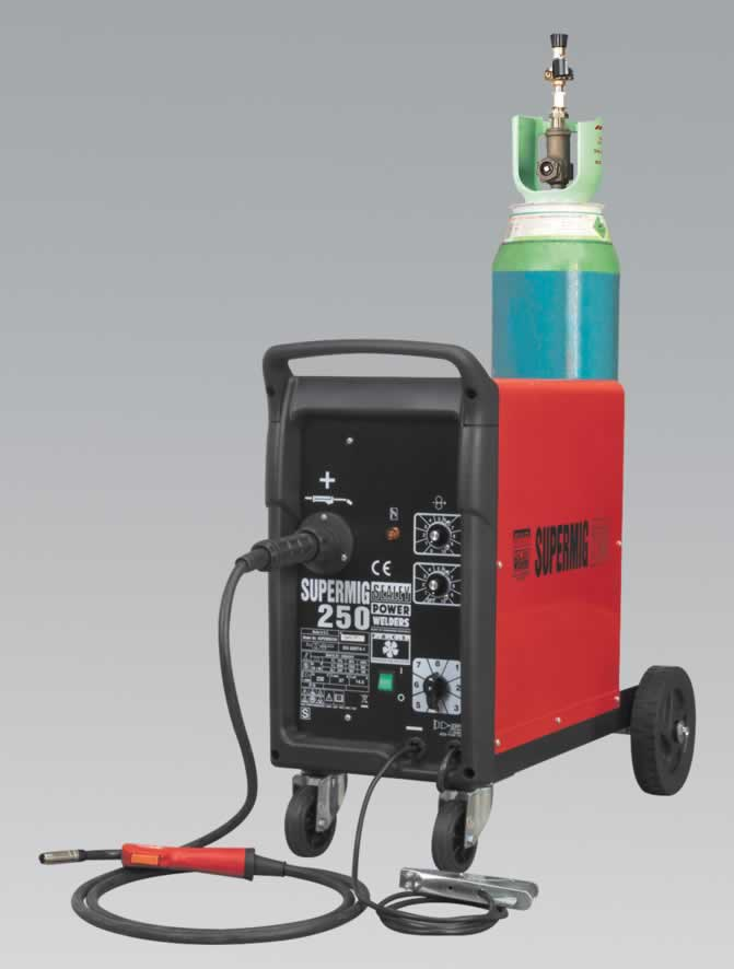 Professional MIG Welder 250Amp 230V with Euro Torch