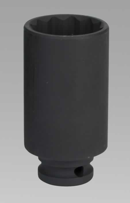 "Impact Socket 33mm Bi-Hex Deep 1/2""Sq Drive"