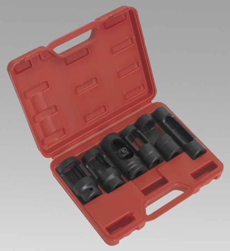 "Diesel Injector Socket Set 1/2""Sq Drive 6pc"