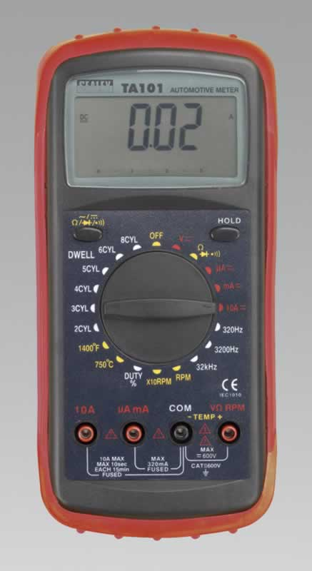 Digital Automotive Analyser 12 Function