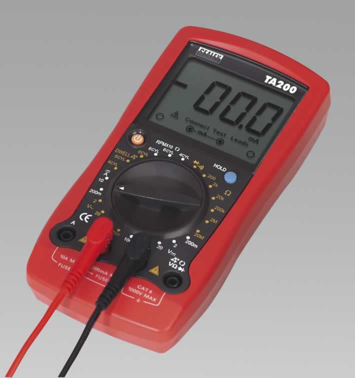 Digital Automotive Analyser 8 Function