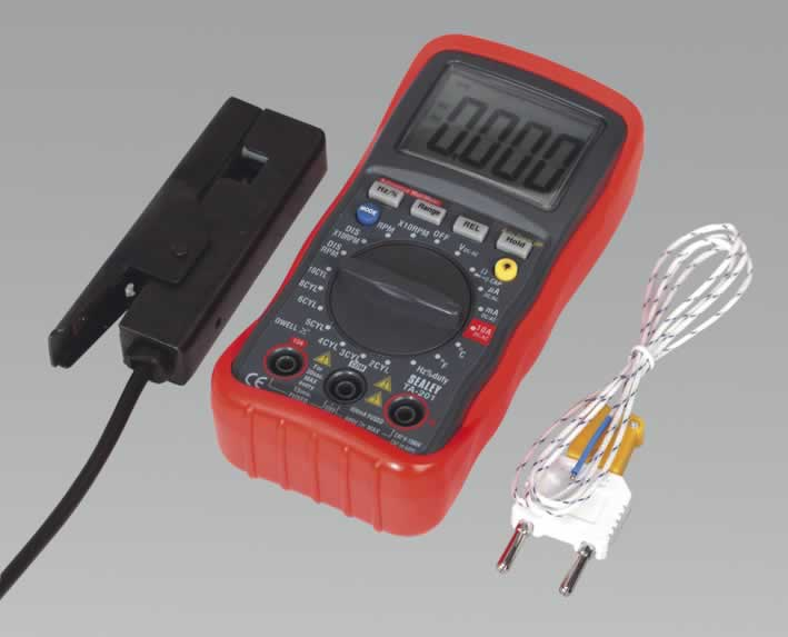 Digital Automotive Analyser 13 Function with IC