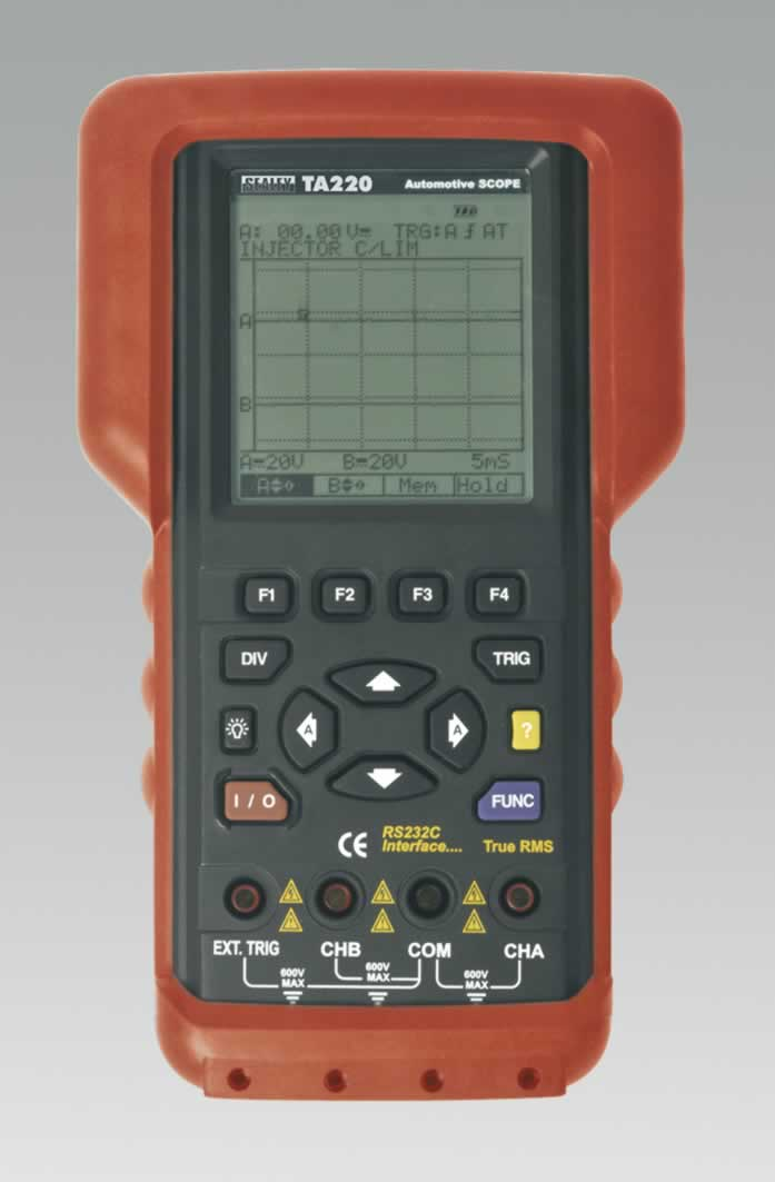 Hand-Held Automotive Dual Channel Oscilloscope