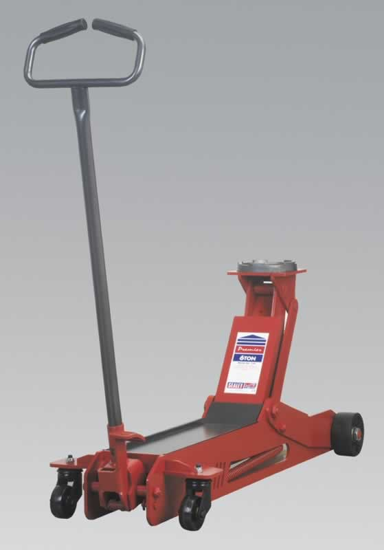 Trolley Jack Premier 6tonne Long Reach