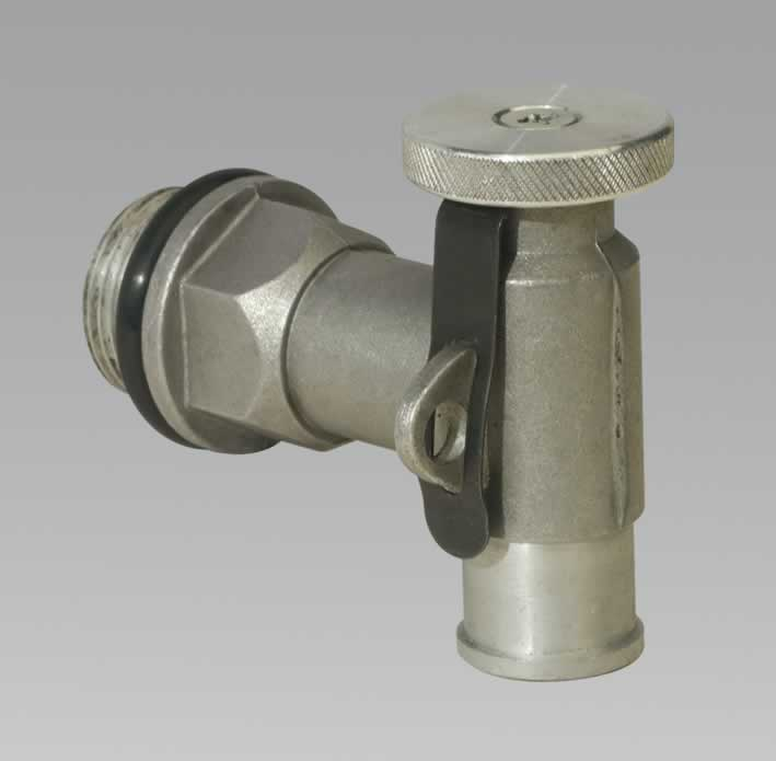 "Drum Tap 3/4""BSP Zinc Die-Cast Lockable"