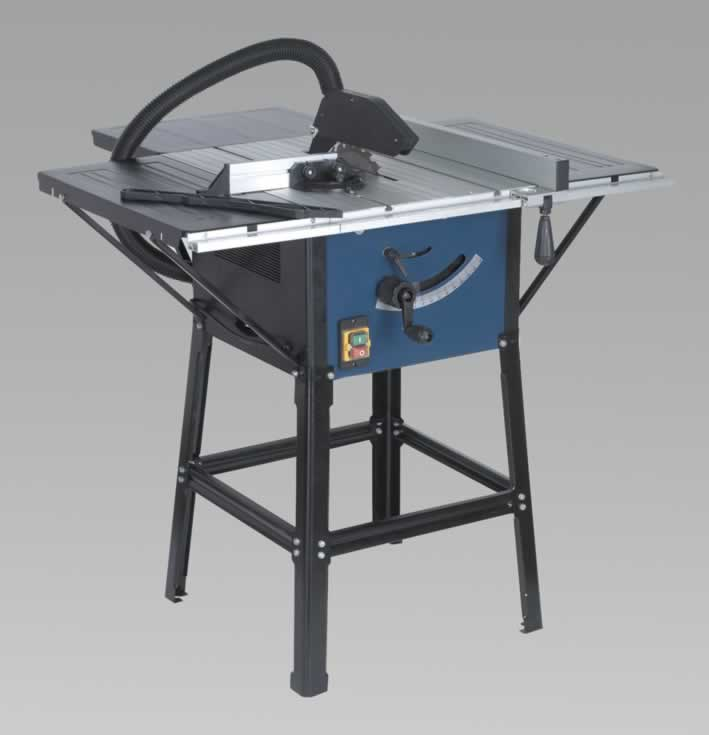 Table Saw 254mm with Stand & Extension Tables