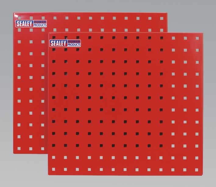 PerfoTool Storage Panel 500 x 500mm Pack of 2