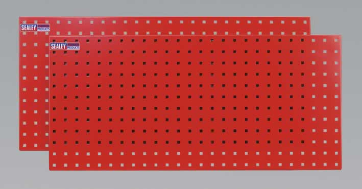 PerfoTool Storage Panel 1000 x 500mm Pack of 2