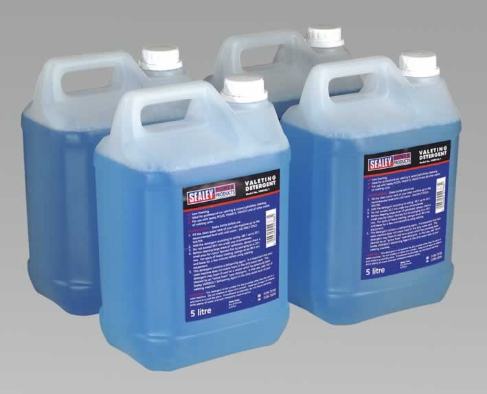 Carpet/Upholstery Detergent 5ltr Pack of 4