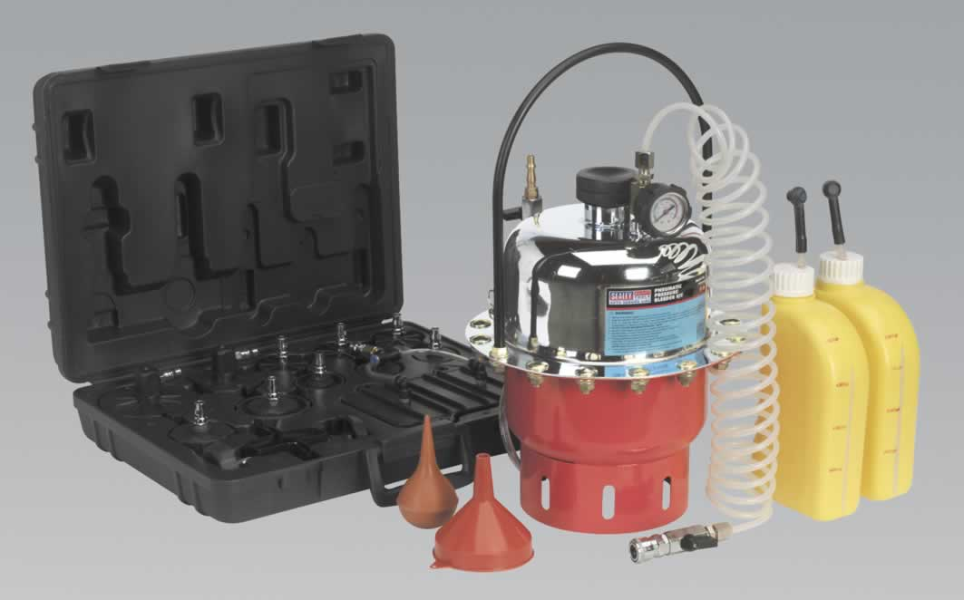 Pneumatic Pressure Bleeder Kit