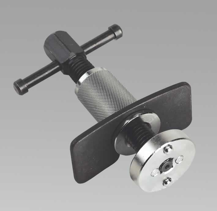 Disc Brake Piston Wind-Back Tool with Double Adaptor