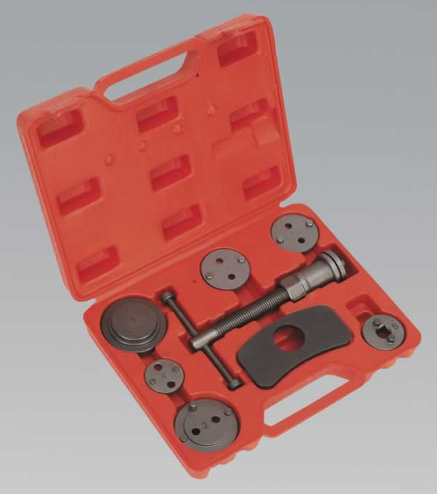 Brake Piston Wind Back Tool Kit 8pc