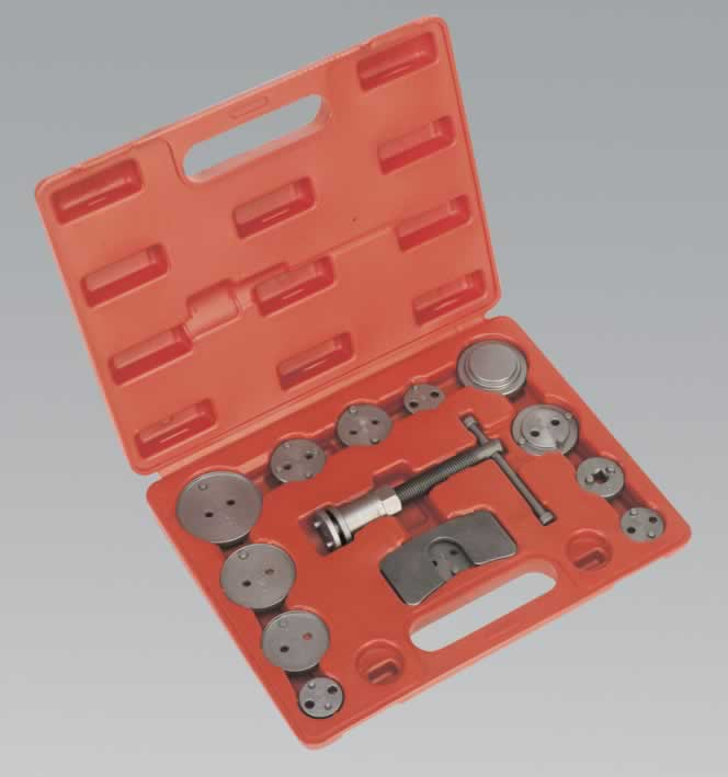 Brake Wind Back Tool Kit 14pc