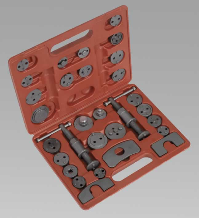 Brake Wind-Back Tool Kit 30pc