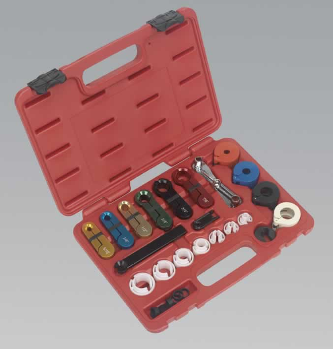 Fuel  Air Conditioning Disconnection Tool Kit 21pc