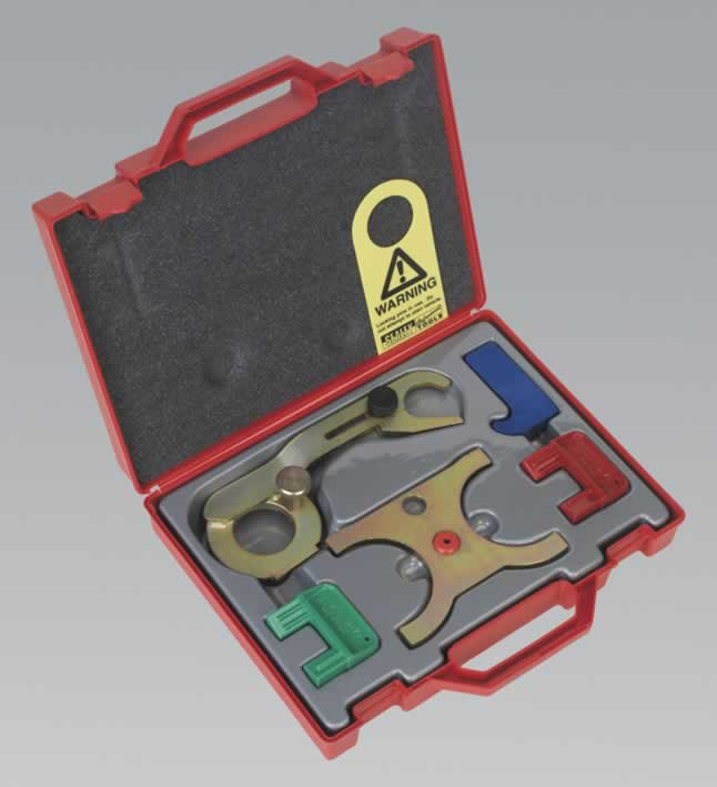 Petrol Engine Setting/Locking Tool Kit 5pc - GM  Saab