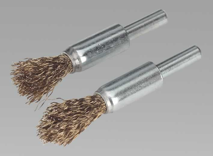 Decarbonising Brush Set 2pc 13mm
