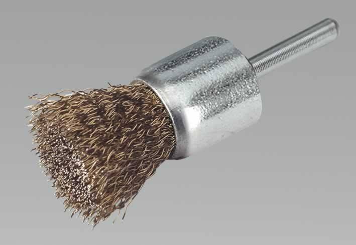 Flat Top Decarbonising Brush 26mm