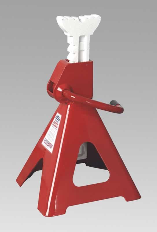 Axle Stands 12tonne Capacity per Stand 24tonne per Pair Ratchet Type