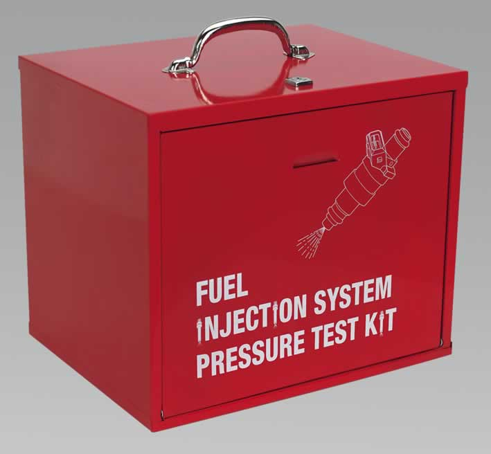 Fuel Injection Pressure Test Kit Storage Cabinet