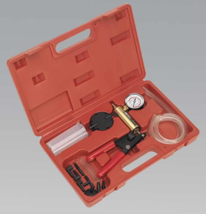 Vacuum Tester & Brake Bleeding Kit  AG