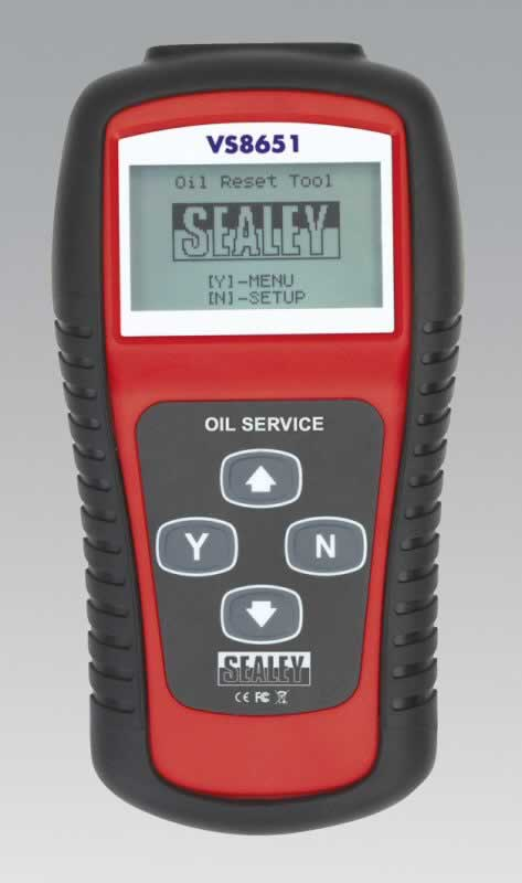 Oil  Service Reset Tool