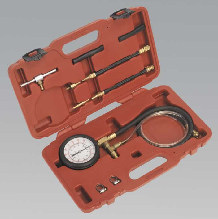 Fuel Injection Pressure Test Set - Test Port