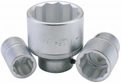 "27MM 3/4"" SQUARE DRIVE ELORA BI-HEXAGON SOCKET"