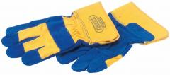 EXPERT LARGE HEAVY DUTY LEATHER INDUSTRIAL GLOVES