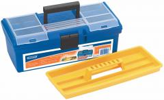 TOOL/ORGANISER BOX WITH TOTE TRAY - 360 x 170 x 140MM