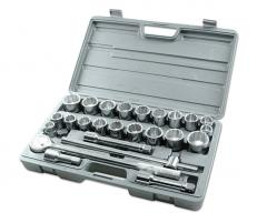 "Socket Set - MM/AF 3/4""D 26pc"