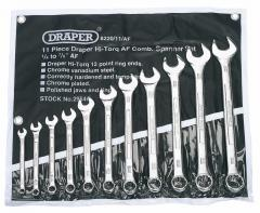 11 PIECE IMPERIAL COMBINATION SPANNER SET