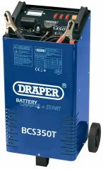 230V BATTERY CHARGER / STARTER WITH TROLLEY   (G)