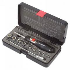Screwdriver Set Ratchet High Torque 42pc