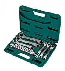 Spanner Set Ratchet & Open End 12pc
