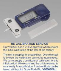 Digital Tyre Tread Depth Gauge Calibration Charge