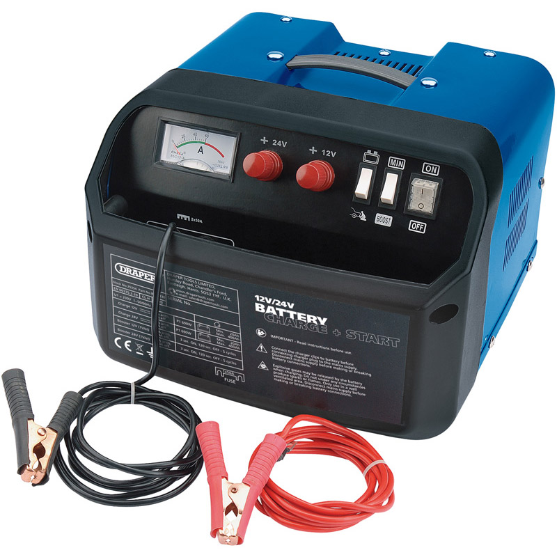 12/24V 120A Battery Starter/Charger   (AHA)
