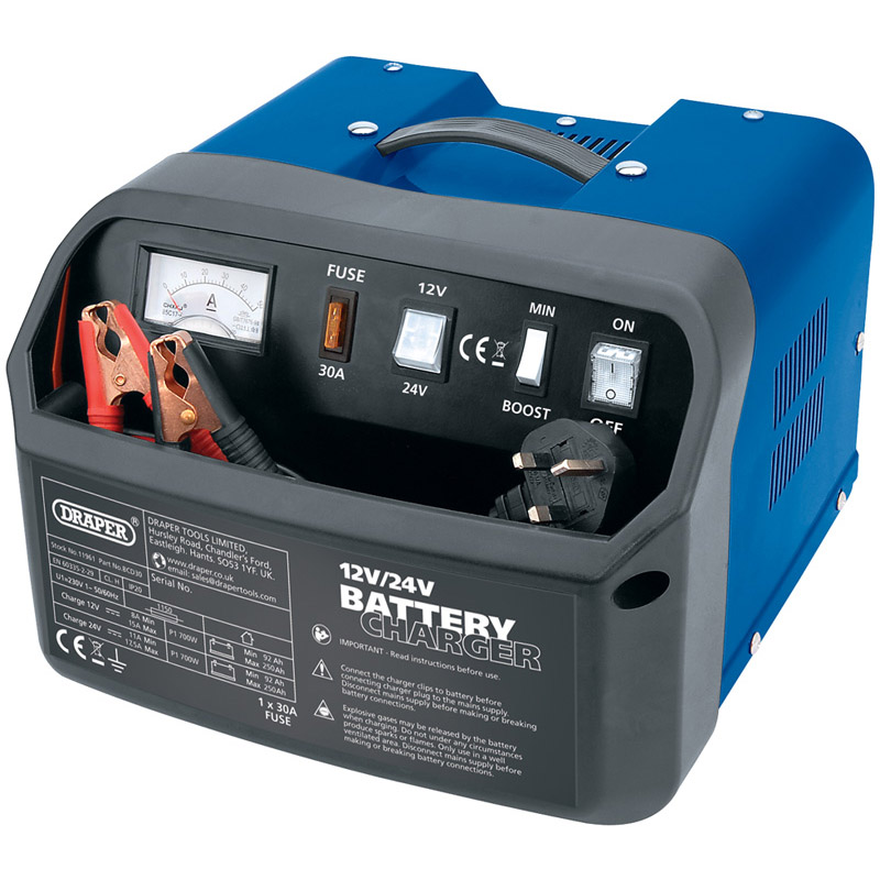 12/24V 15A Battery Charger   (AHA)