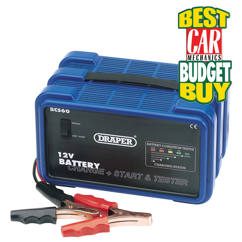 12V Battery Charger/Starter and Tester - 26A  (AHA)