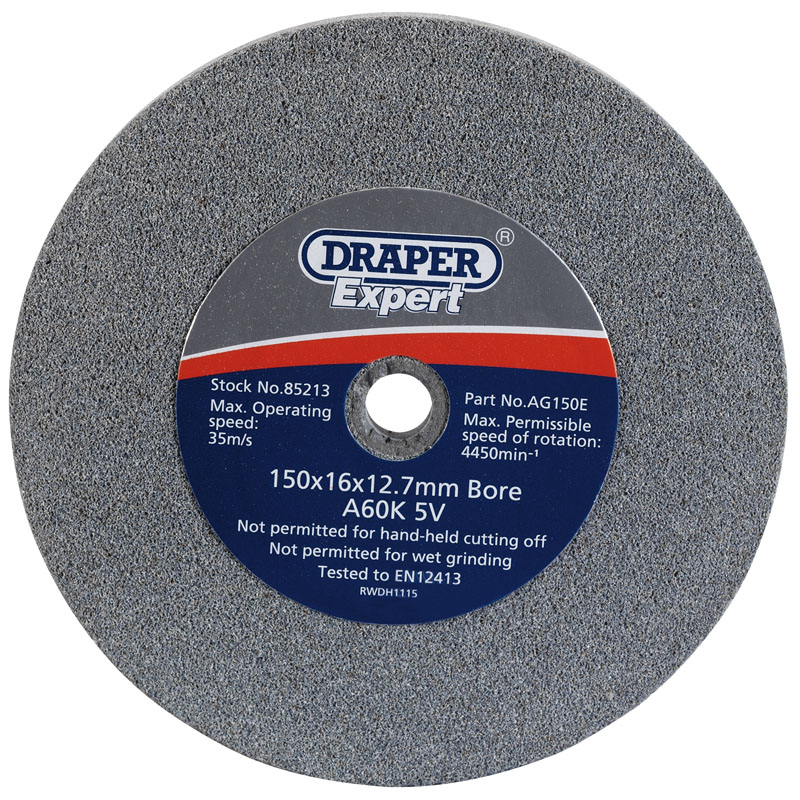 150 X 16mm Grinding Wheel (60 Grit)  (CD)