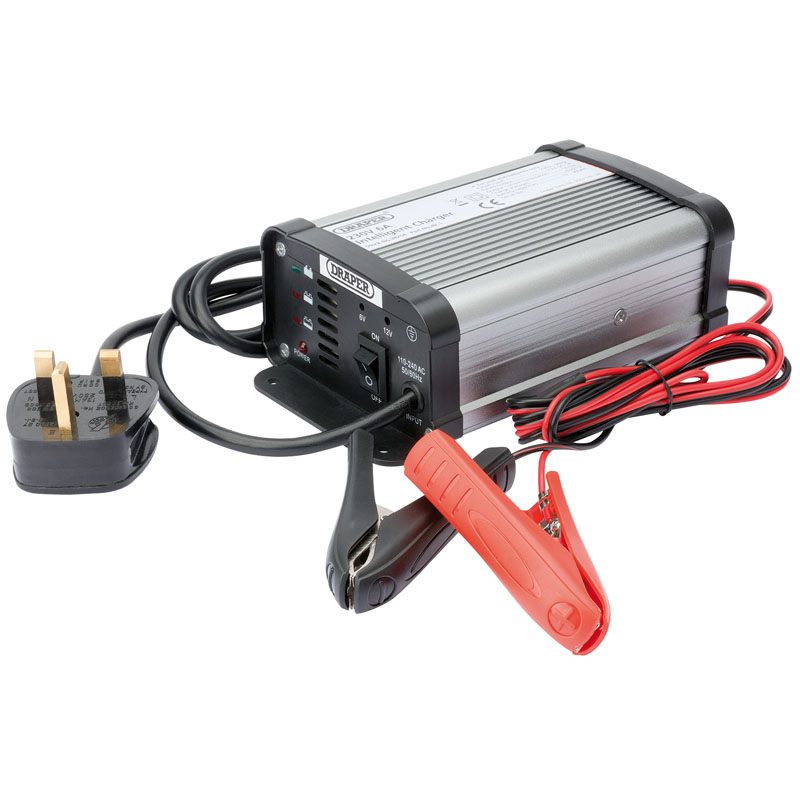 6/12V 6A Intelligent Battery Charger  (aha)