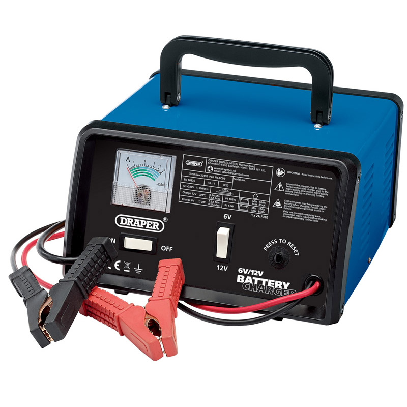 6/12V 8.4A Battery Charger  (AHA)