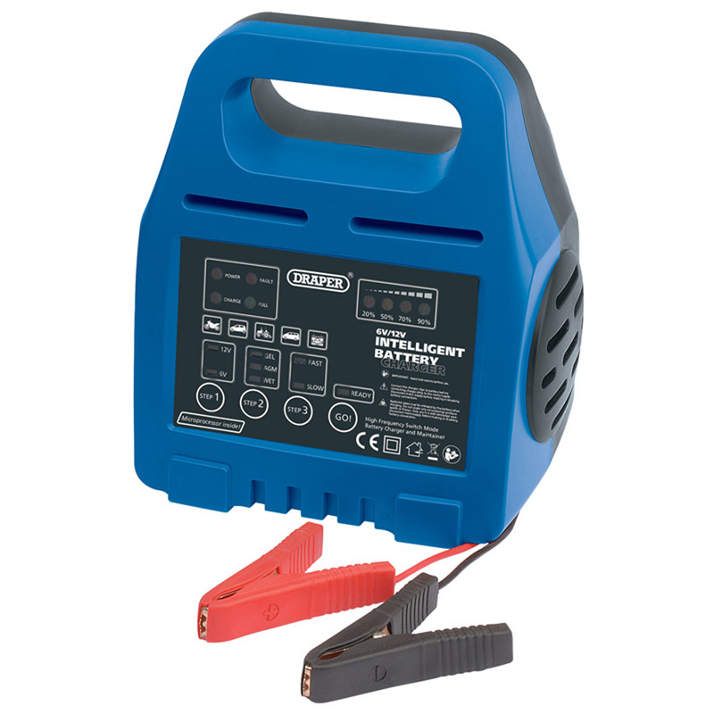 6/12V Intelligent Battery Charger   (AHA)