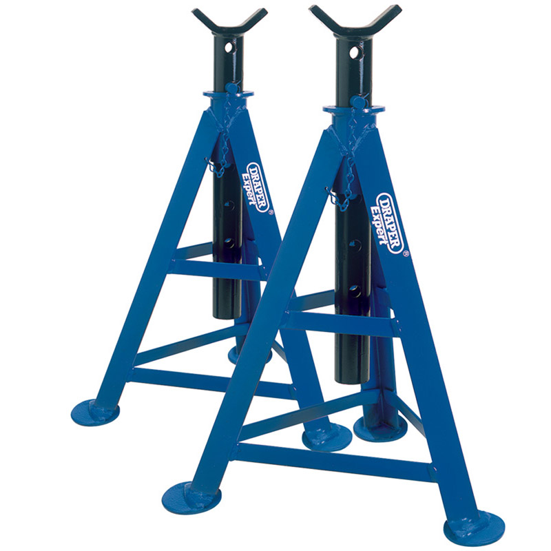 6 TONNE AXLE STANDS (PAIR)  -(AHA)