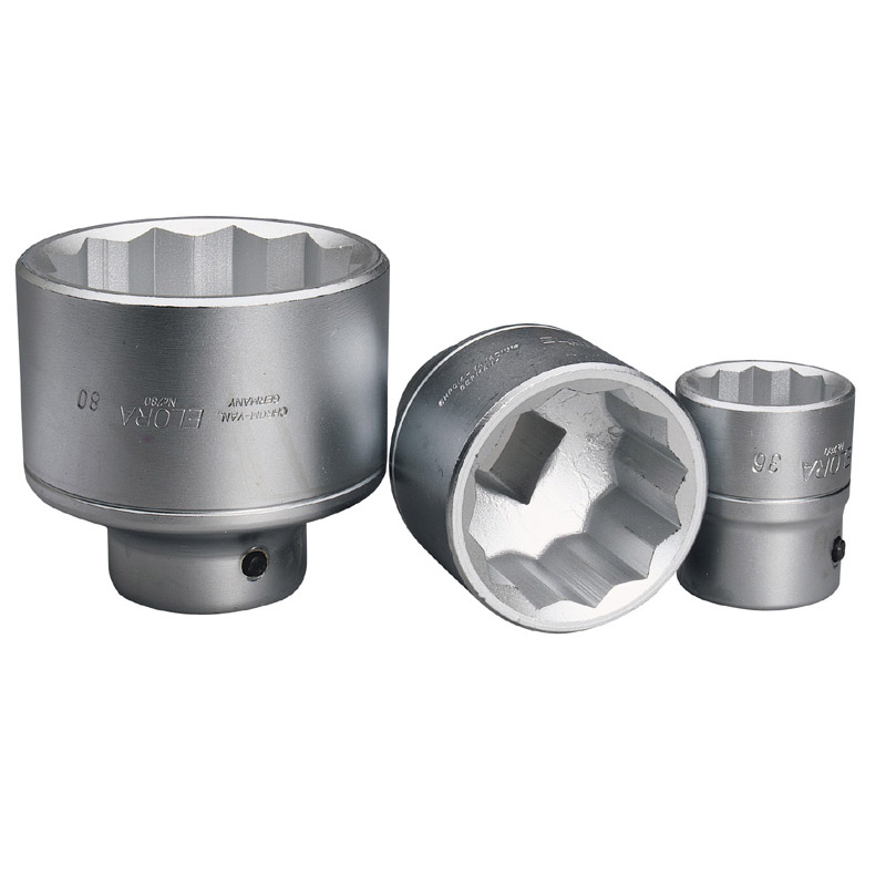 "80MM 1"" SQUARE DRIVE ELORA BI-HEX SOCKET  (AH)"