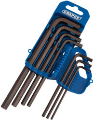 AF LONG PATT HEX KEY SET 7PC 		(AH)